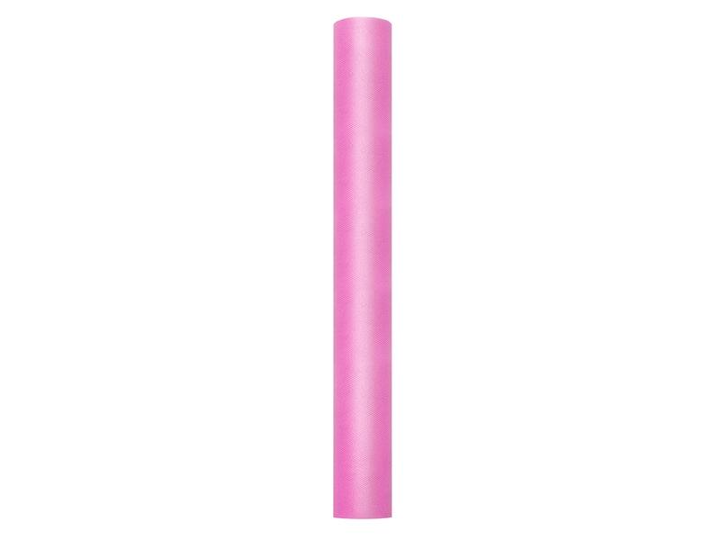 78a10f04 Tiul na rolce 50 cm/ 9 m, g. róż